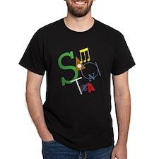 Samantha's Black T-Shirt