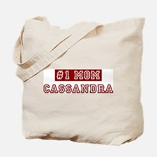 Cassandra #1 Mom Tote Bag