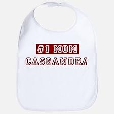 Cassandra #1 Mom Bib