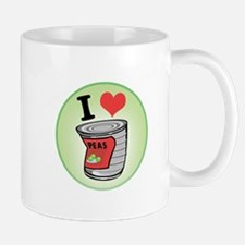 I Love (Heart) Peas Mug