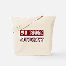 Audrey #1 Mom Tote Bag