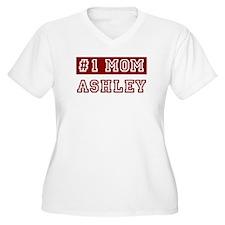 Ashley #1 Mom T-Shirt