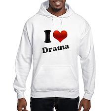 I Heart (love) Drama Jumper Hoody