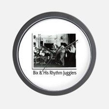 Bix Beiderbecke & His Rhythm Jugglers Wall Clock