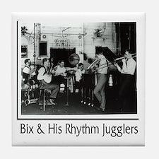 Bix Beiderbecke & His Rhythm Jugglers Tile Coaster