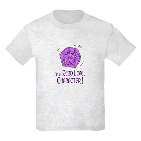 I'M a Zero Level Character! K Kids Light T-Shirt
