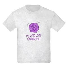 I'M a Zero Level Character! K T-Shirt
