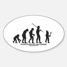 Evolution of the Gnome Oval Decal
