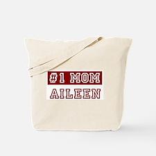 Aileen #1 Mom Tote Bag