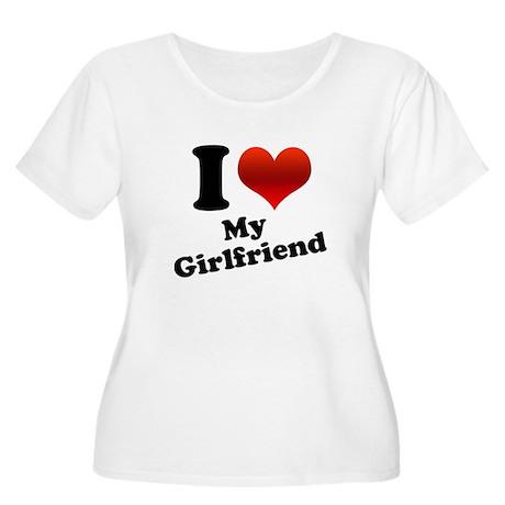 I Heart My Girlfriend Women's Plus Size Scoop Neck