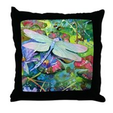 Dragonfly II Throw Pillow