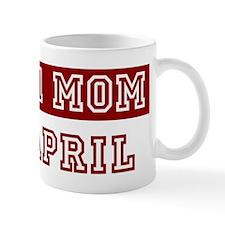 April #1 Mom Mug