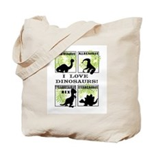 Unique Dinosaur love Tote Bag