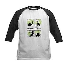 Dinosaurs T-shirts cropped SCALED Baseball Jersey
