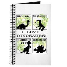 Cute Tyrannosaurus rex Journal
