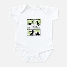 Funny Fun dinosaur Infant Bodysuit