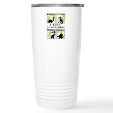Unique Fun dinosaur Travel Mug