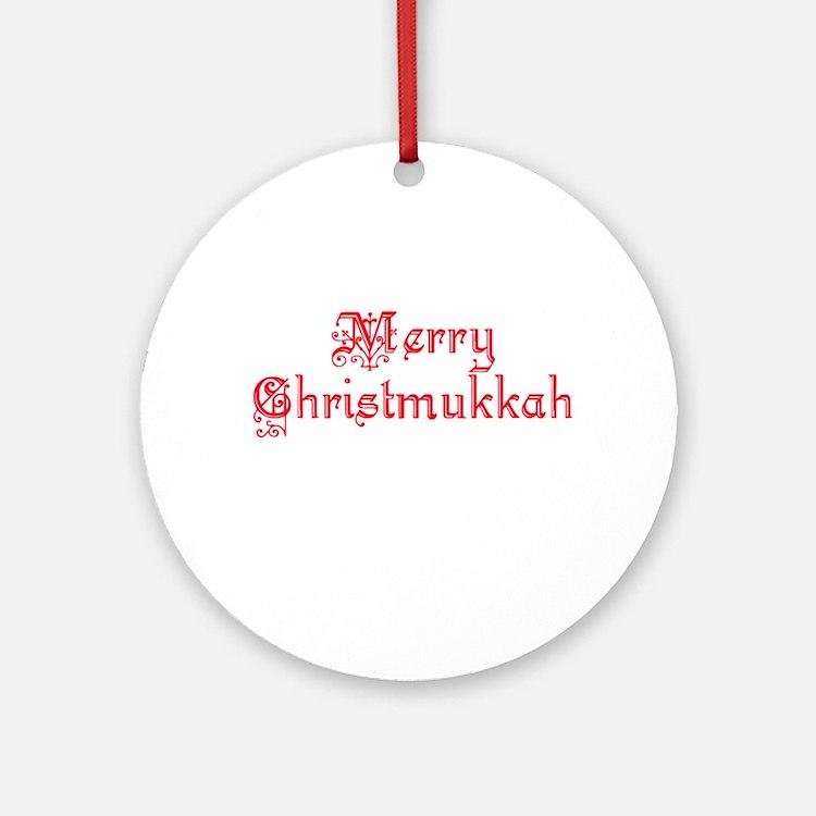 Chrismukkah Ornament (Round)
