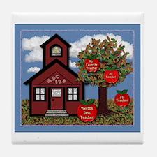 TEACHER'S Tile Coaster
