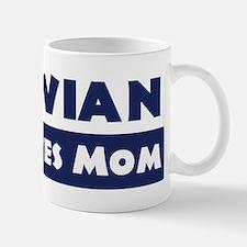 Vivian Loves Mom Mug