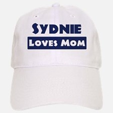 Sydnie Loves Mom Baseball Baseball Cap