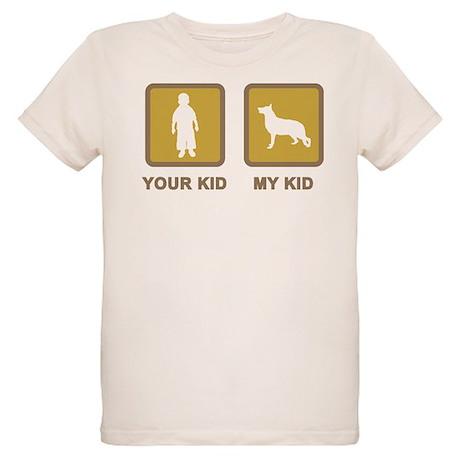German Shepherd Dog Organic Kids T-Shirt