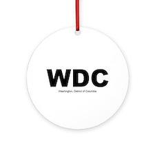 WDC Ornament (Round)