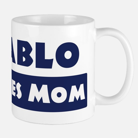 Pablo Loves Mom Mug