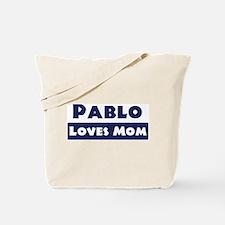 Pablo Loves Mom Tote Bag