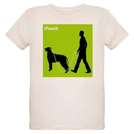 Irish Wolfhound Organic Kids T-Shirt