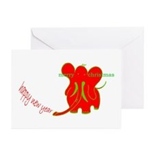 hny mc greeting cards (Pk of 10)