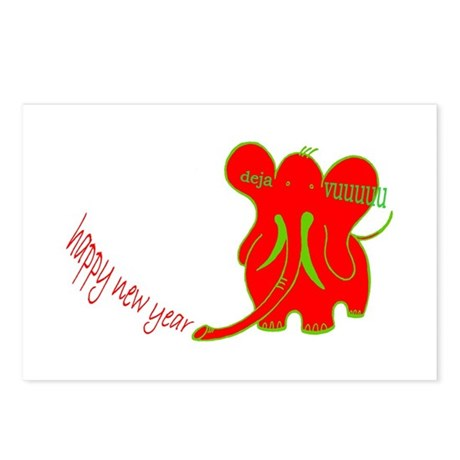 hny dv postcards (Package of 8)