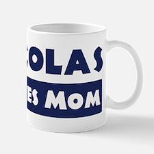 Nicolas Loves Mom Mug