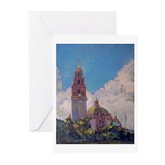 San Diego-Balboa Park Holiday Cards (Pk of 10