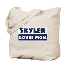 Skyler Loves Mom Tote Bag