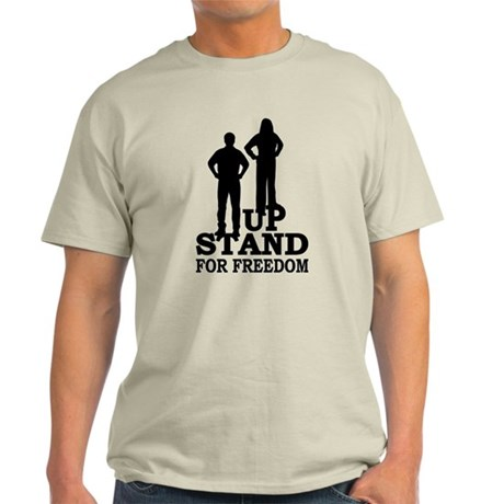 Stand Up For Freedom Light T-Shirt