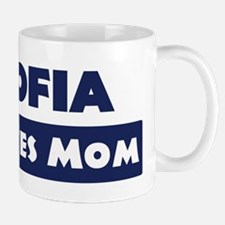 Sofia Loves Mom Mug