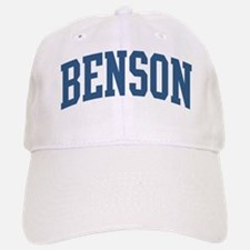 Benson Collegiate Last Name Baseball Baseball Cap
