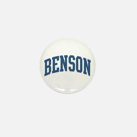 Benson Collegiate Last Name Mini Button