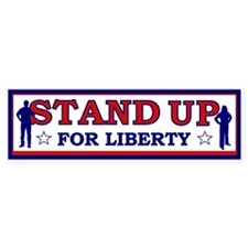 Stand Up For Liberty Bumper Sticker (10 pk)