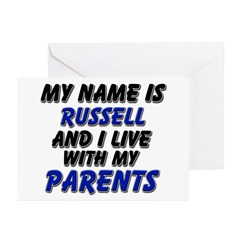 my name is russell and I live with my parents Gree