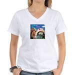 Keep a Diary Women's V-Neck T-Shirt