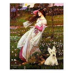 Windflowers / Scottie (w) Posters