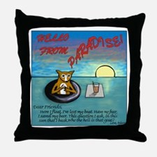Diego From Paradise Throw Pillow