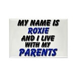 my name is roxie and I live with my parents Rectan