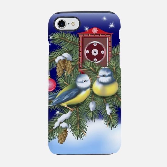 Season Greetings iPhone 7 Tough Case