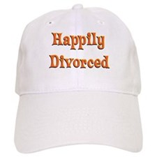Happily Divorced (bright) Baseball Cap