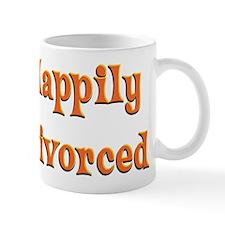 Happily Divorced (bright) Mug