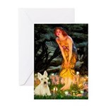 Midsummer / Scottie (w) Greeting Card