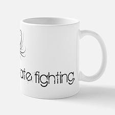 I love pirate fighting Small Small Mug
